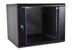 ЦМО Шкаф телекоммуникационный настенный разборный 9U(600х650)дверь стекло,