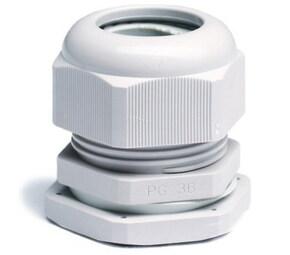 ДКС Зажим кабельный с контргайкой, IP68, PG16, д.9-14мм