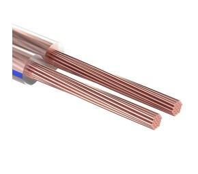 Кабель акустический, 2х4.00 мм?, прозрачный BLUELINE, 100 м. REXANT