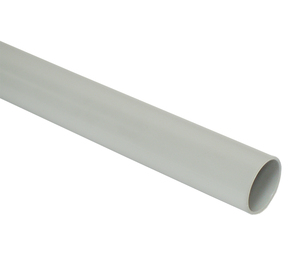 ДКС Труба ПВХ жёсткая атмосферостойкая д.50мм, тяжёлая, 3м, цвет серый